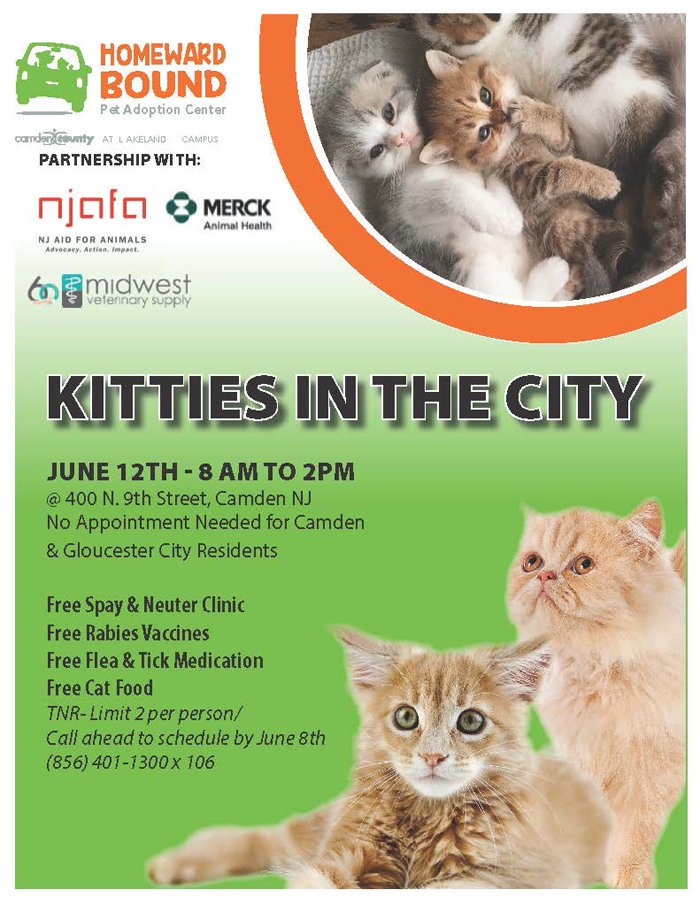 Free Spay and Neuter Clinic June 2021